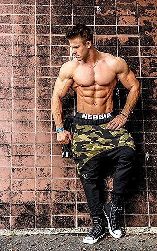 Купить лучшую одежду для спорта мужская коллекция NEBBIA Aesthetic warrior