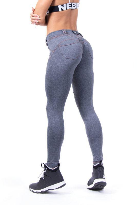 Лосины купить Bubble Butt Pants 253-Grey