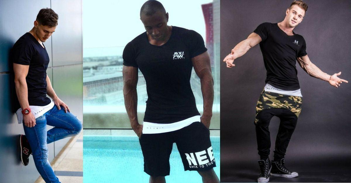 одежда для фитнеса Футболка AW 123