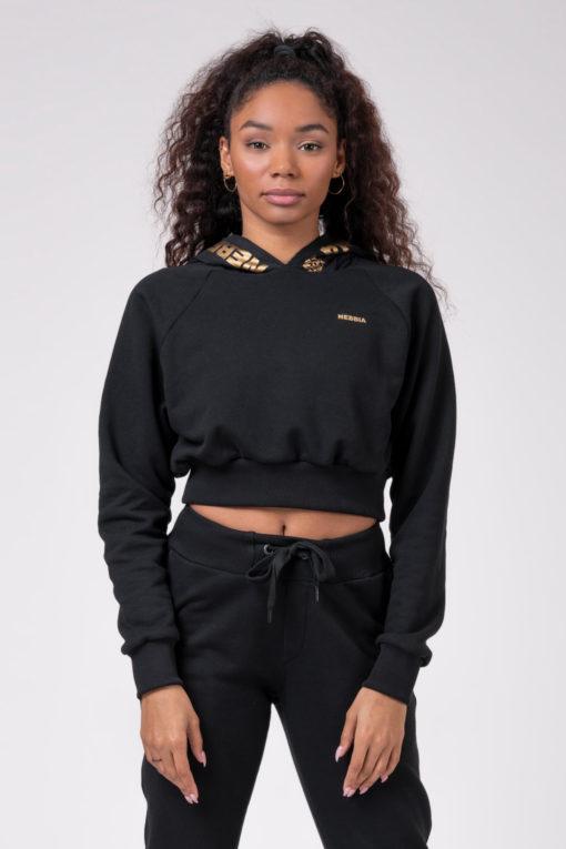 Толстовка Intense cropped hoodie 824